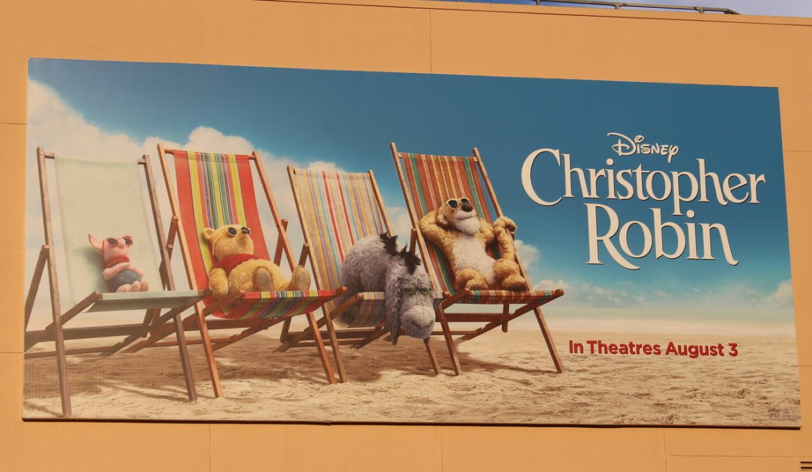 Three Cheers For Christopher Robin