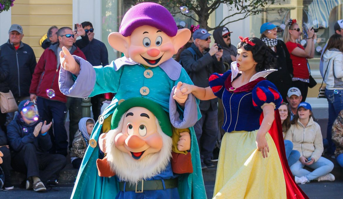 Disney & Grimm: Snow White and the Seven Dwarfs