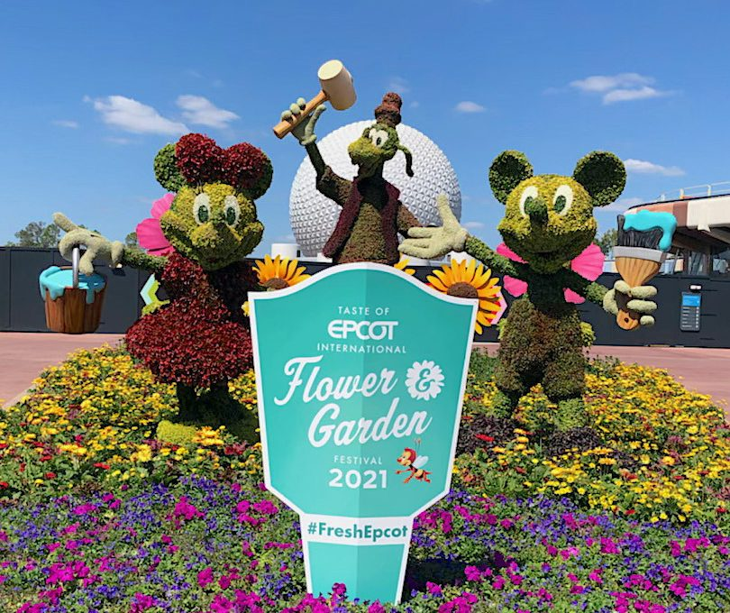 """Can't Make It To Disney's Flower & Garden Festival This Year? """"Pop In"""" For A Photo Tour Instead"""