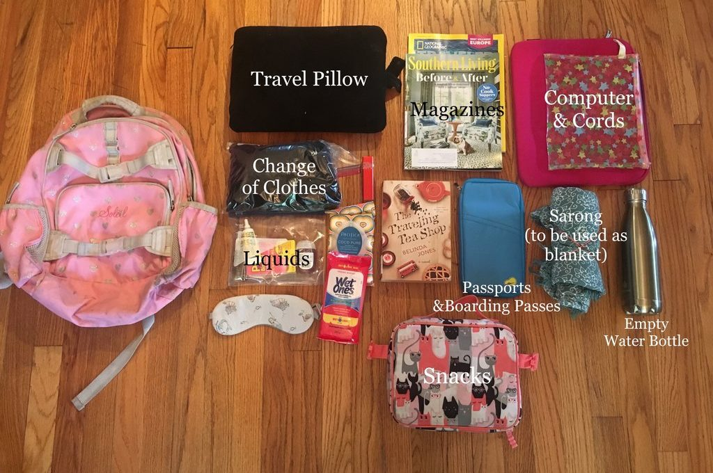 Packing Hack: Plane Trips