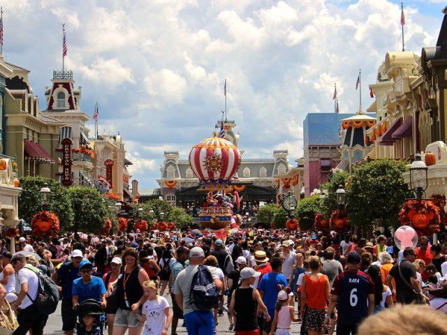 Definition of Disney Crowded