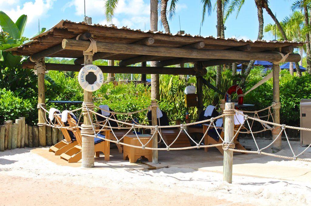 The Luxury of a Typhoon Lagoon Beachcomber Shack