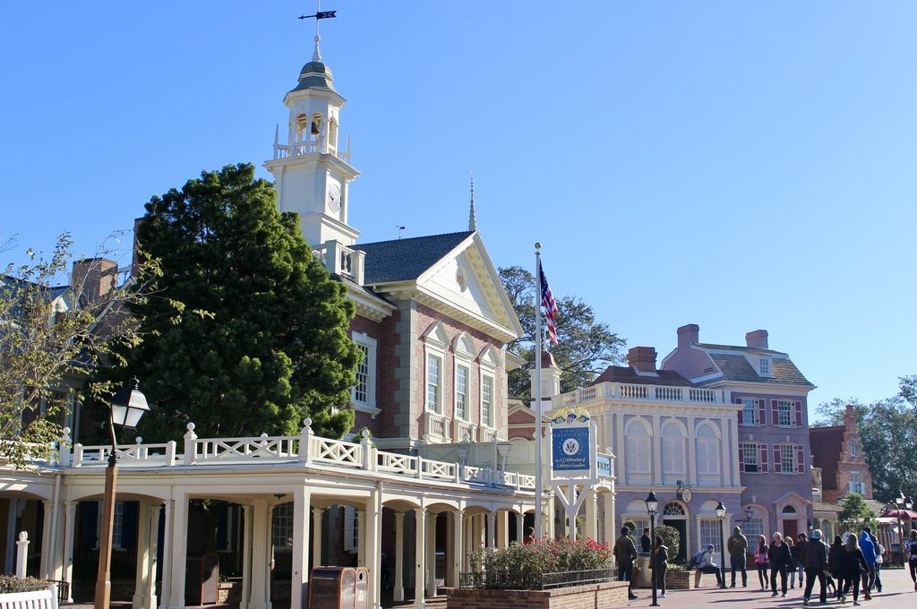 What's Disney's Best Thanksgiving Spot? Liberty Square